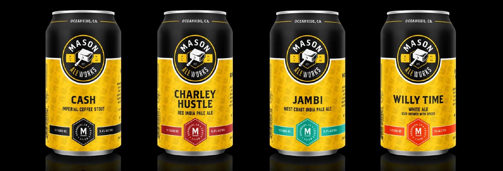 beer label package design