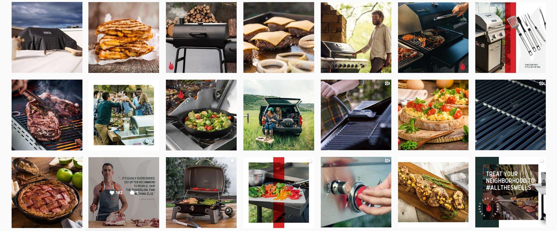 food brand social media marketing